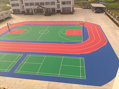 multi-purpose sports court