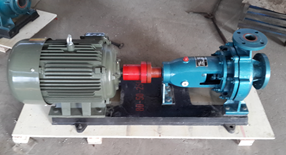 Horizontal electric single stage centrifugal clean water pump