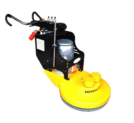 High speed floor polishing machine work video