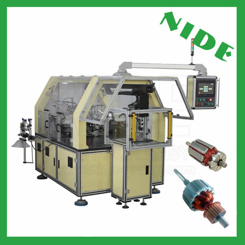 Automatic armature coil winding machine