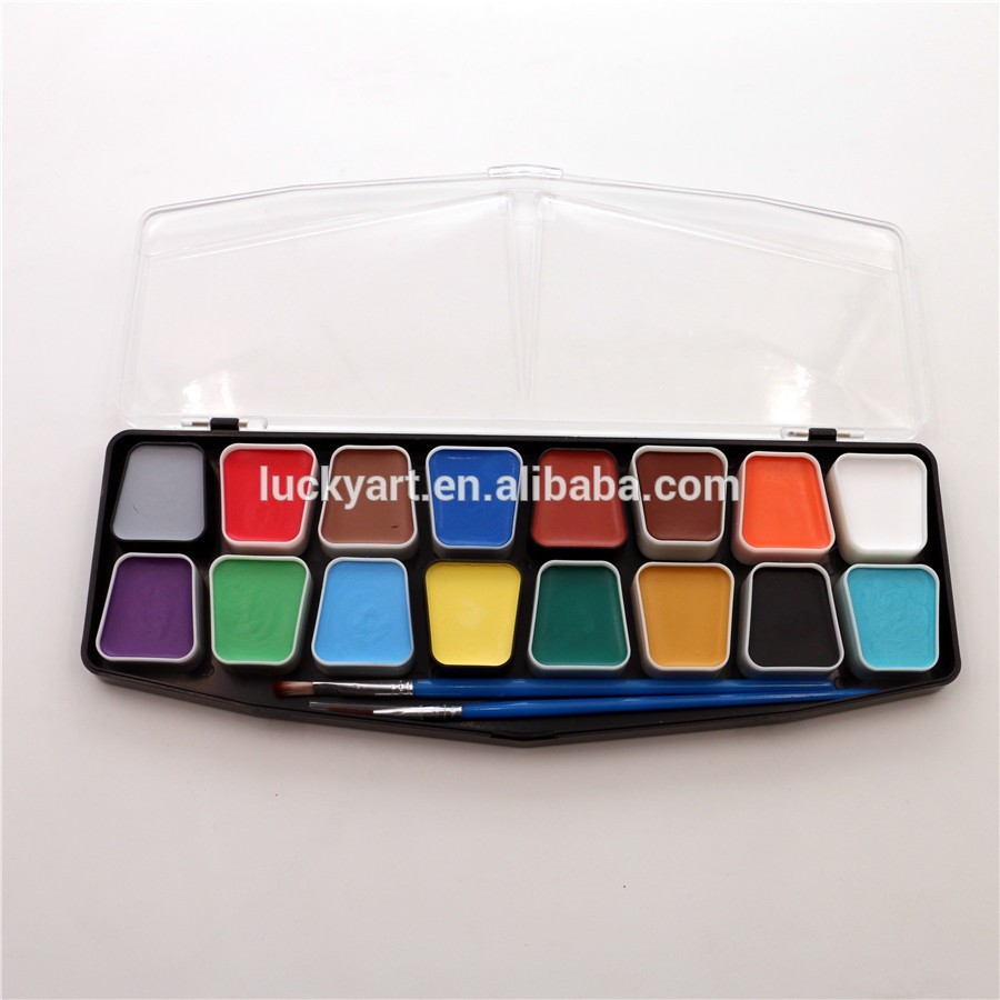 water based easy to remove face paint kit for halloween party