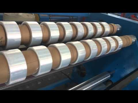 Fully Automatic Stretch Film Rewinding Slitter