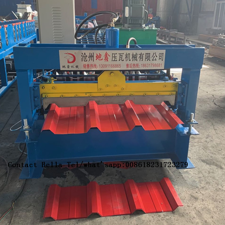 Steel Roofing Panel Galvanized Roll Forming Machine