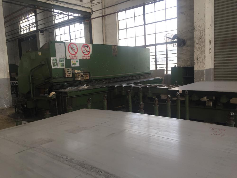 Cut thinner stainless steel plates