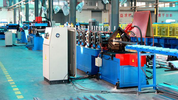 Door/Window Frame Cold Roll Forming Line
