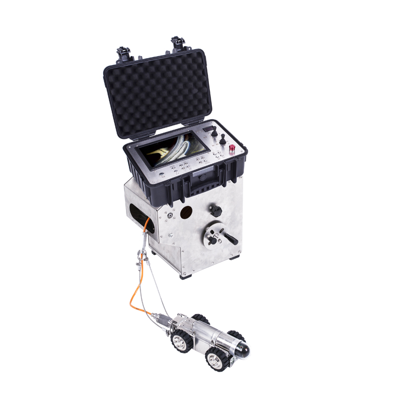 Industrial Sewer Pipe Robot Inspection camera