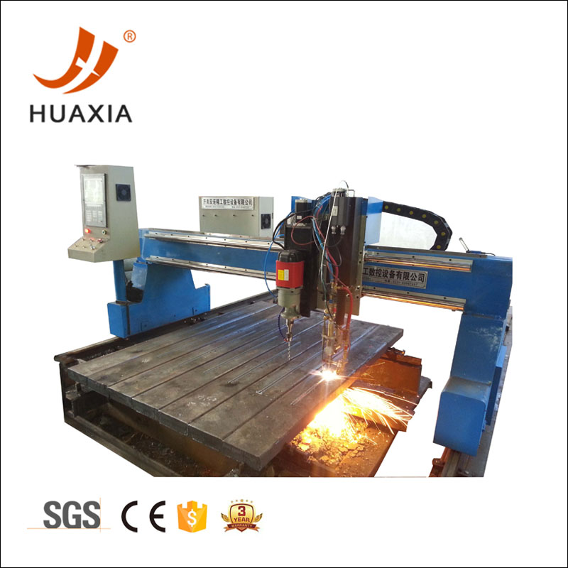 CNC gantry plasma and flame cutting machine