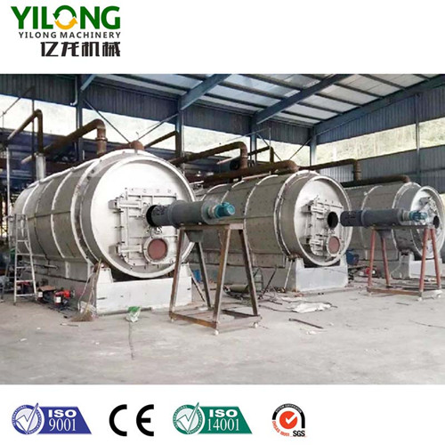 Feeding-Tyre Pyrolysis Machine