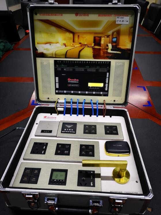 A7 smart guest room control system show box