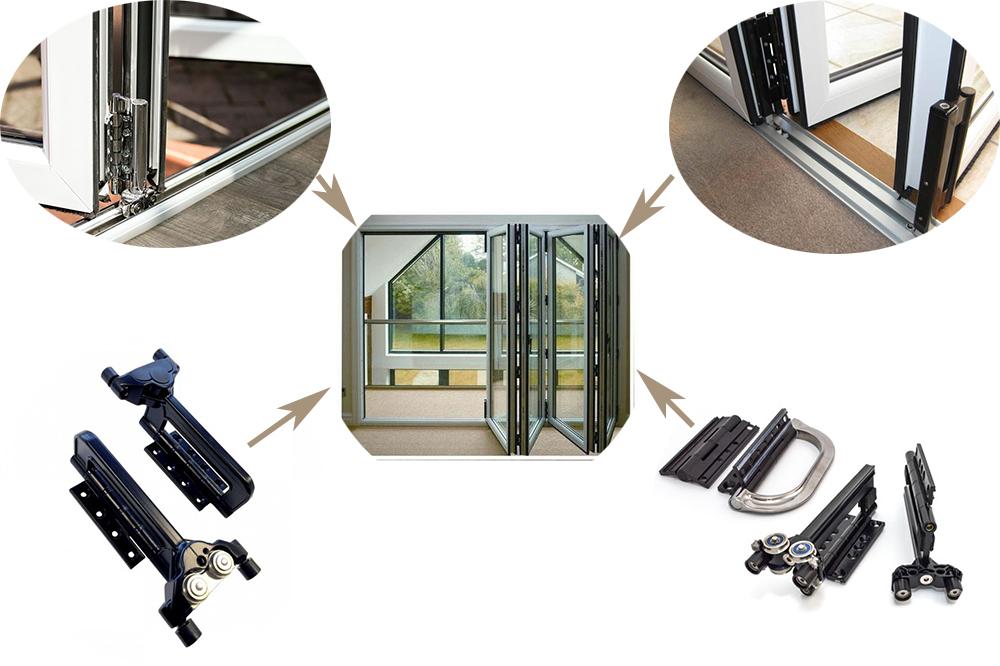 folding door hardware