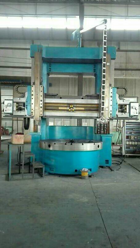 Double column vertical lathe processing case