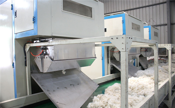 Geotextile machine