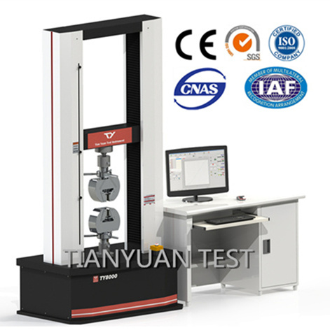 100KN  Electronic Tensile Testing Machine -  Copper Bar Tensile Test