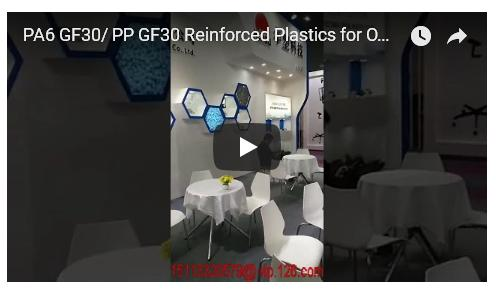 2018-03 The 41st CIFF Exhibition in Guangzhou for PA6 GF30/ PP GF30 Reinforced Plastics