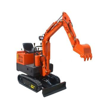 Construction micro digger mini garden excavator equipment