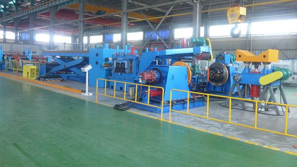 Slitting and Cut to Length Machine