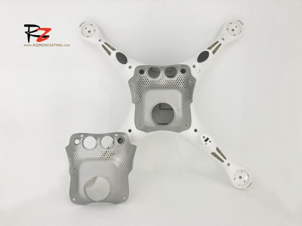 Unmanned aerial vehicle Bottom plate  die-casting