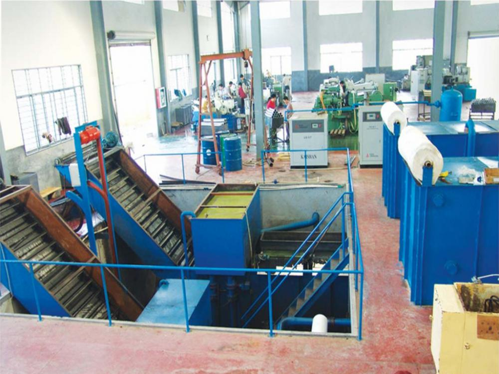 Grinding fluid,Superfinishing fluid recycling and filtrating system