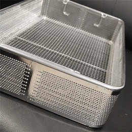 Welded Wire Mesh Basket with Handles