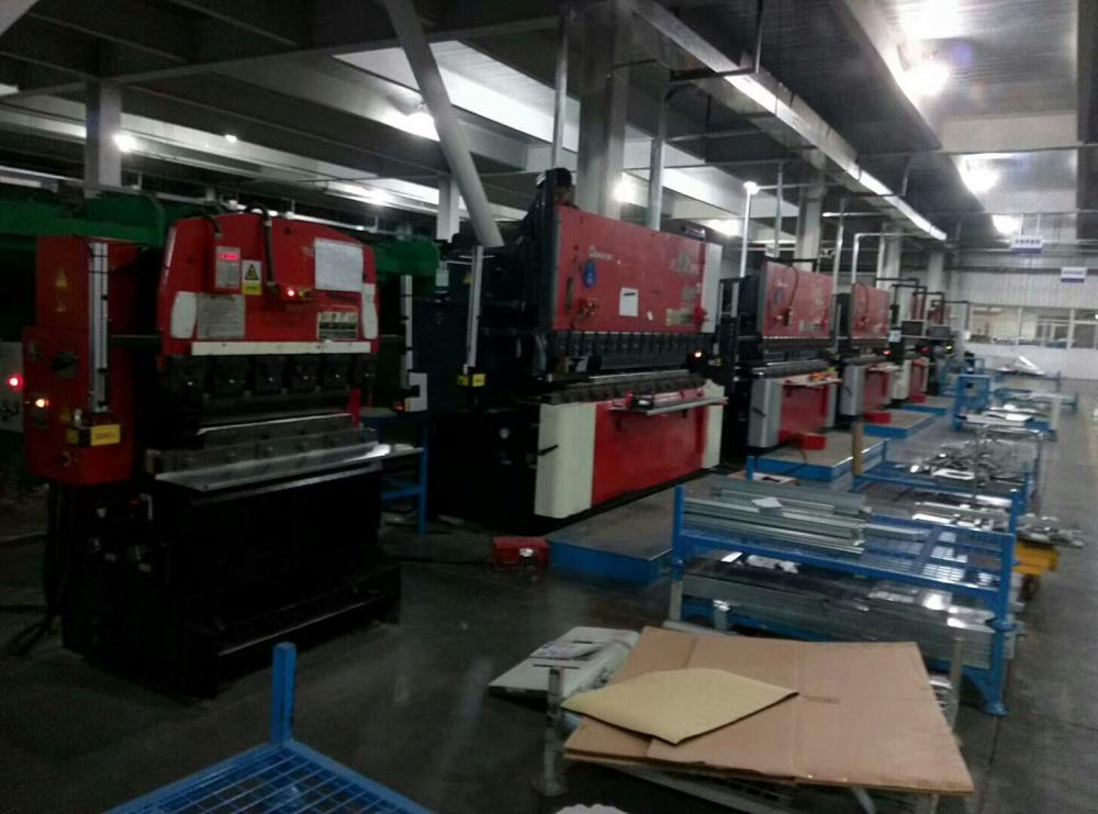 Press brake machine laser safety device