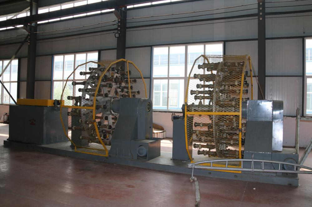 Two-disk winding machine