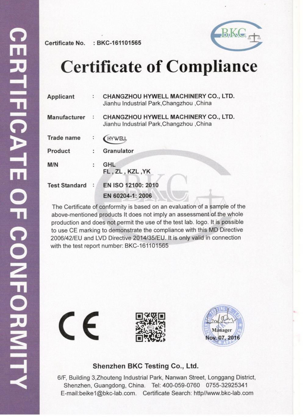 CE-Granulator