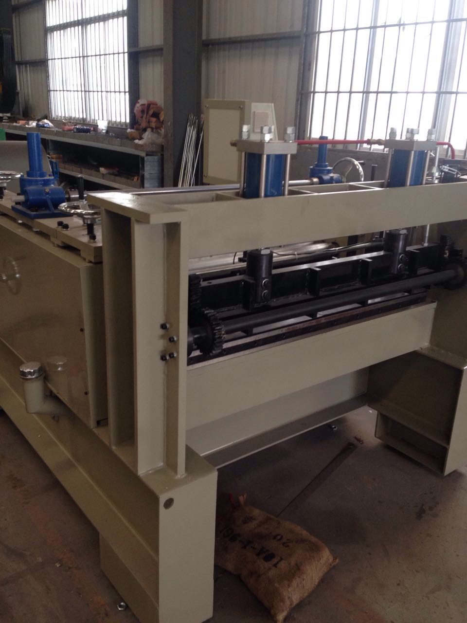 Slitting and shearing machine