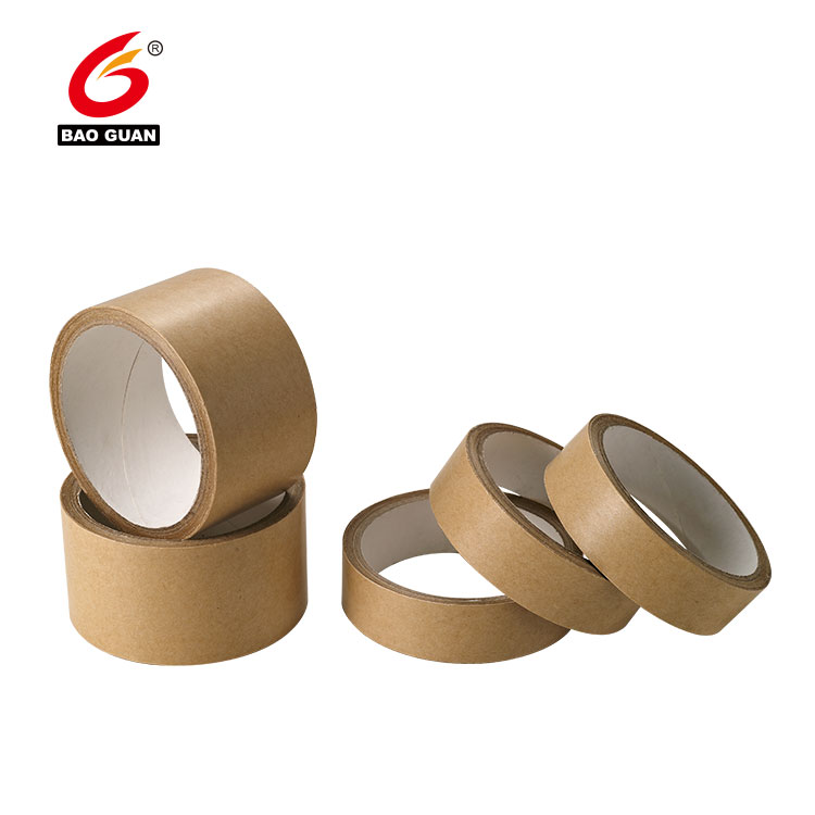 Hotmelt Self Adhesive Kraft Paper Gummed Tape3