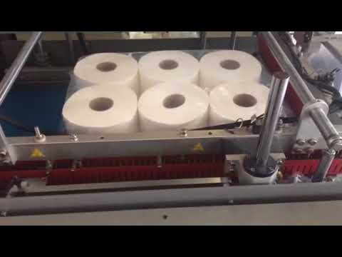 Packing process:laminated centerpull paper towels
