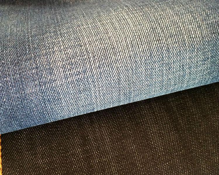 Шерстяная ткань из хлопкового твила Aufar для мужских джинсовых рубашек