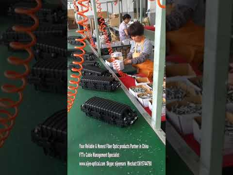 Fiber Optic Splice Closure in workshop