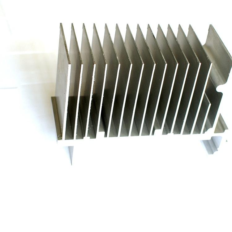 cnc machining milling aluminum profiles extrusion heatsink