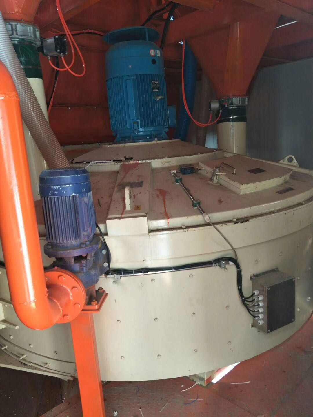 Concrete Batching Plant with Planetary Concrete Mixer