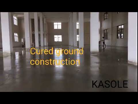 Cured ground construction