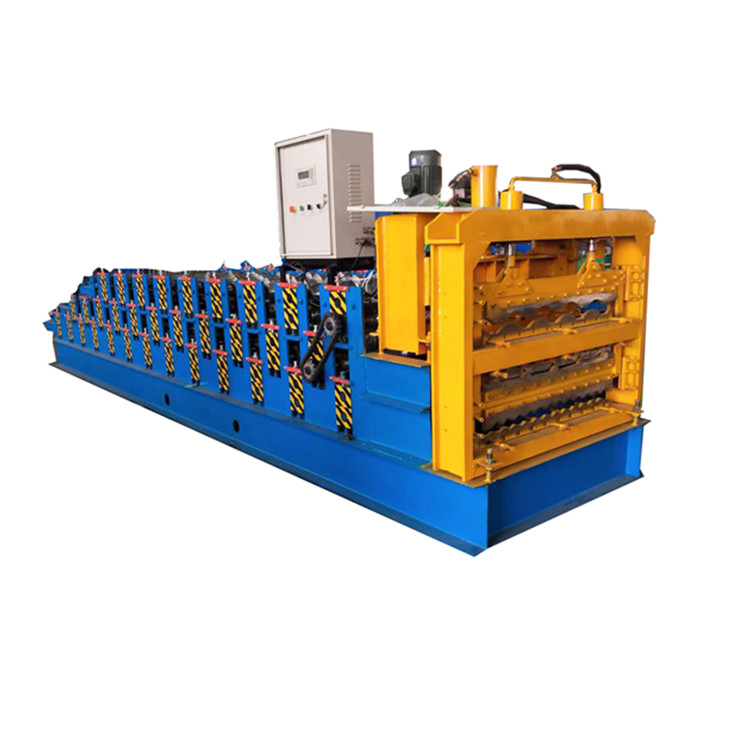Hot sales three layer roll forming machine