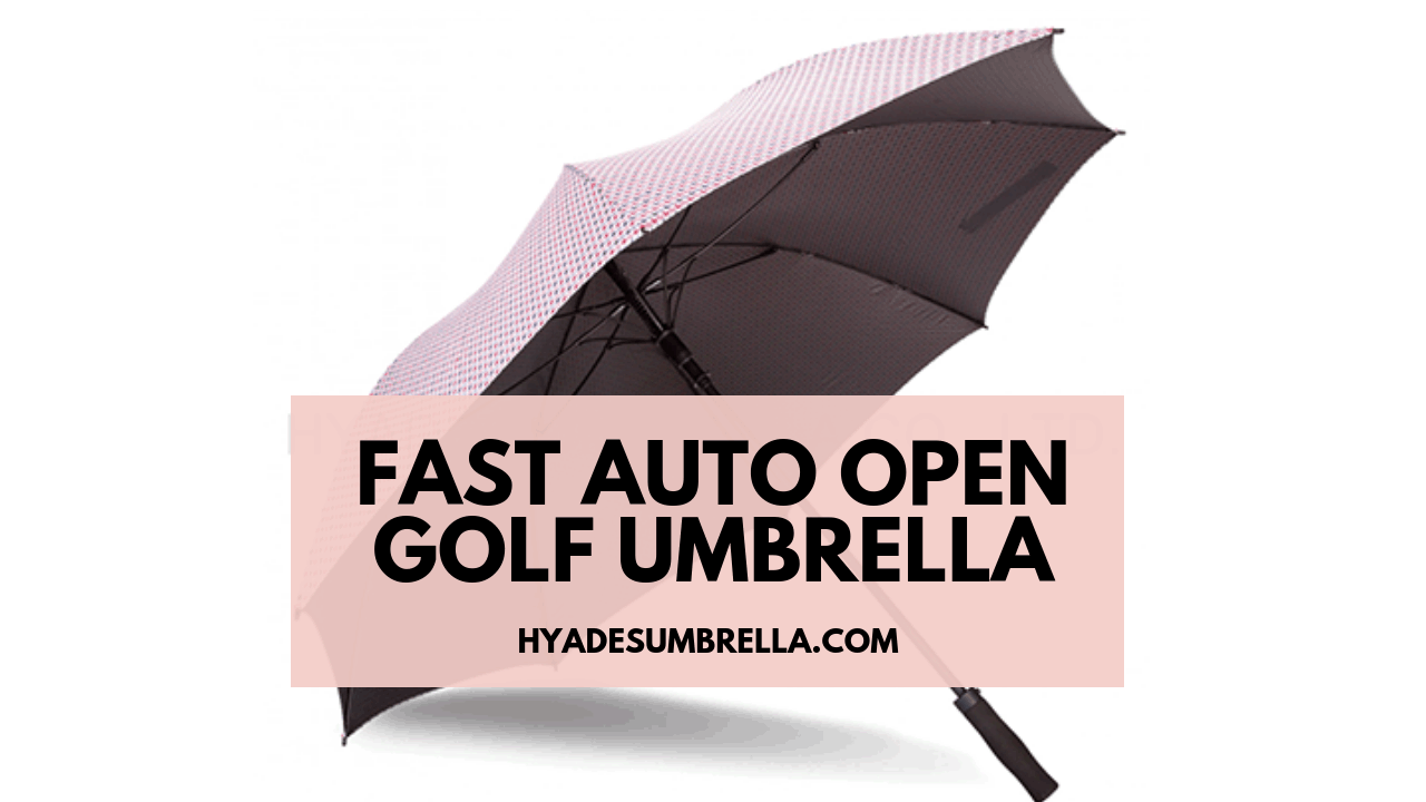 Fast Auto Open Golf Umbrella