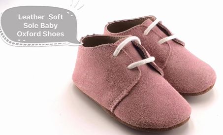 Leather Soft Sole Baby Oxford Shoes