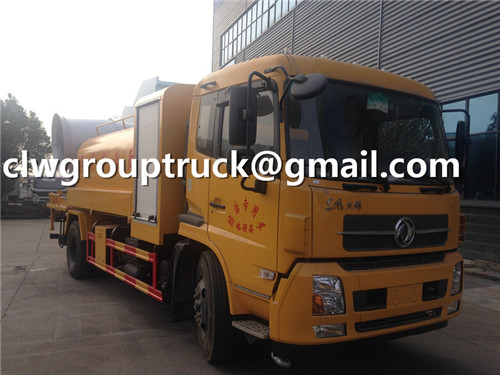 CLW GROUP TRUCK Dongfeng Tianjin Mutifunctional Anti dust Sprayer Truck