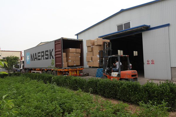 The Container Loading for Finished Packed Microfiber Towels Products