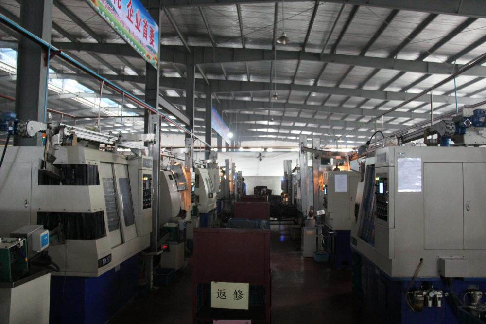 Auto grinding line workshop