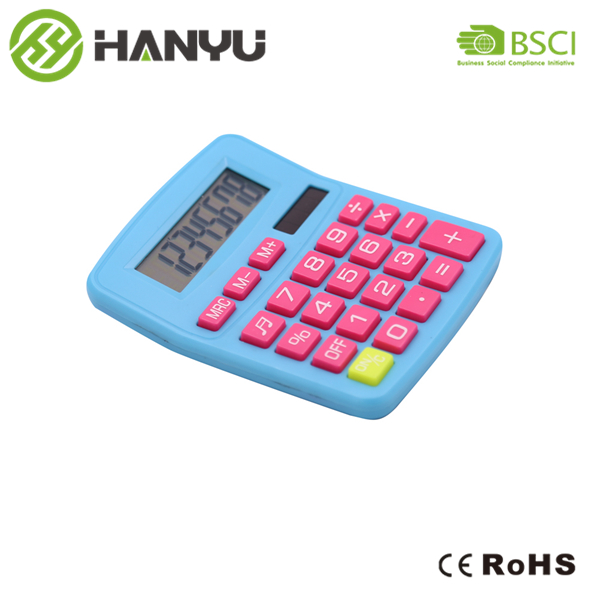 How to use desktop calculator HY 2172?