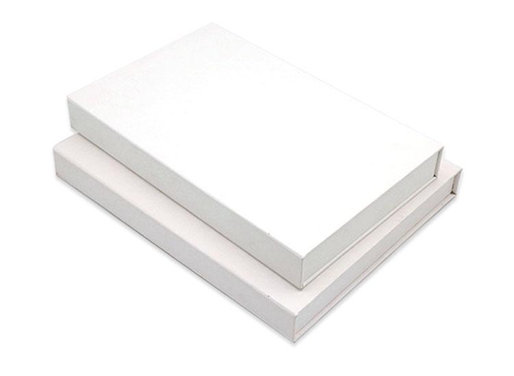White custom high-end gift box