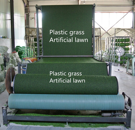 plastic lawn artificial lawn plastic grass artificial turf production line