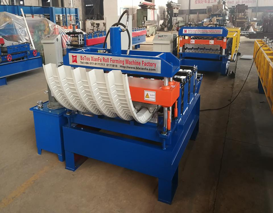 Hydraulic Arch Machine
