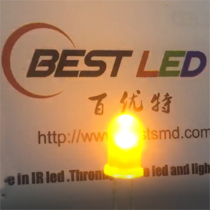 Blinking LED - 5mm Yellow Candle LED Flicker