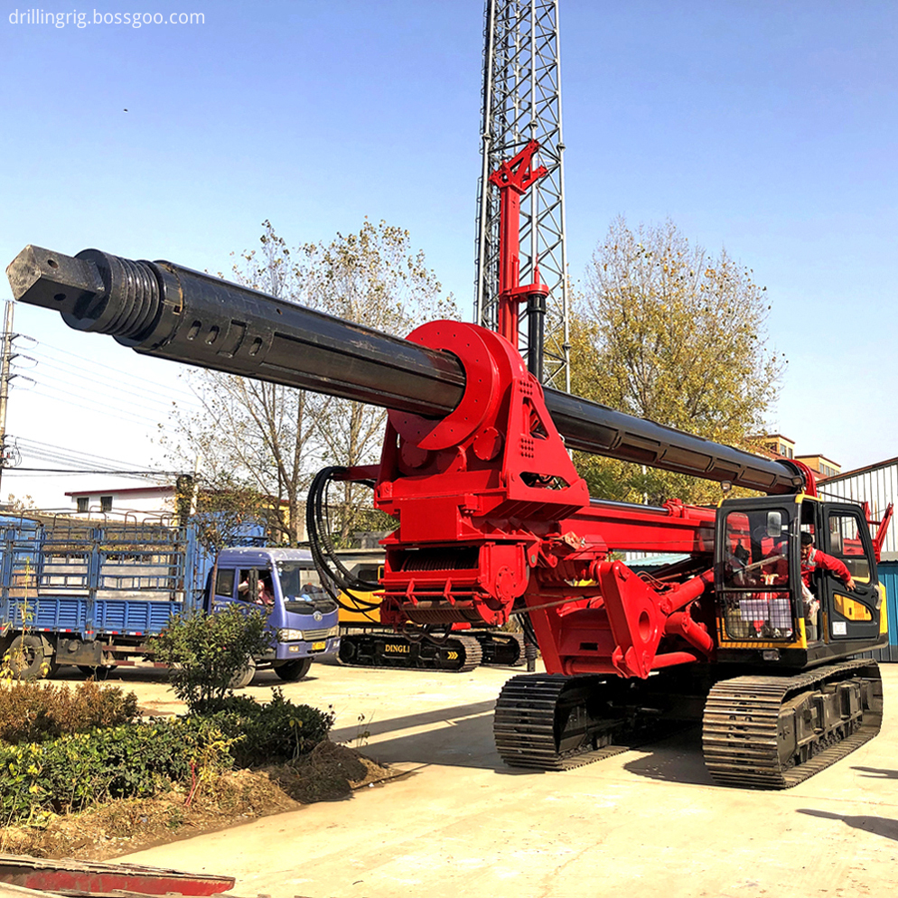 Hydraulic Bore Drilling Pile Rig