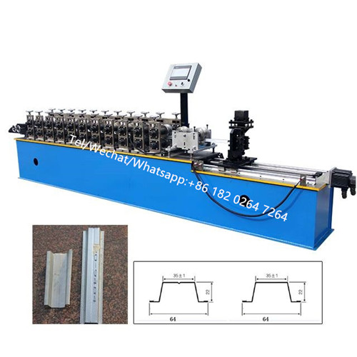 High Speed Omega Furring Channel Rolling Machine