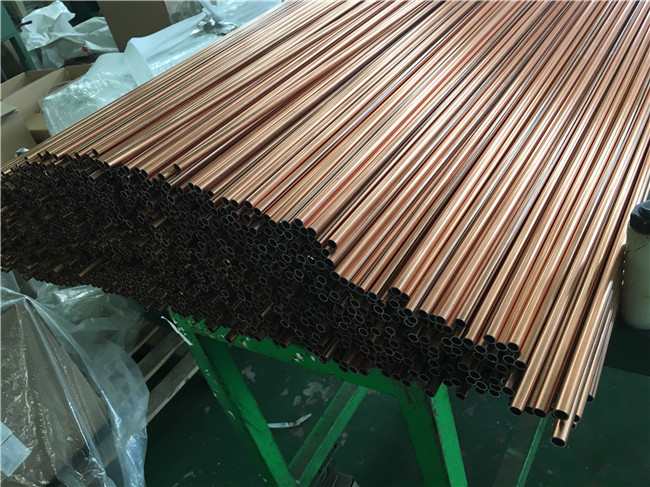 Copper Brazed dopuble wall steel tubes