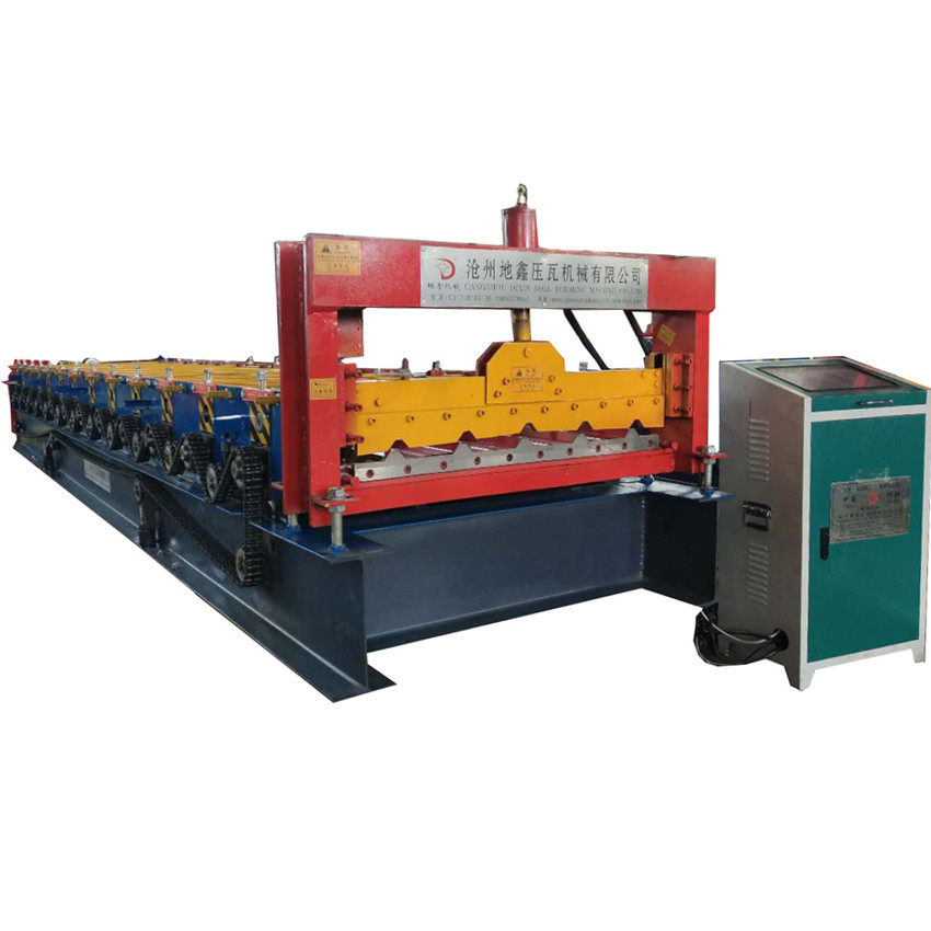 metal roofing trapezoidal sheet roll forming machine