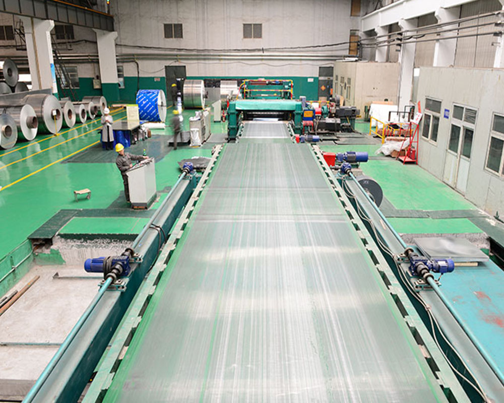 aluminum sheet process line